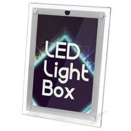 LED 超薄水晶燈箱海報架 (A3-可掛牆/座台)