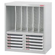 樹德 Shuter A4X-210P5V A4座地文件櫃(雙排/10抽)