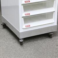 樹德 Shuter 座地文件櫃專用鋁底座連活動輪(A4 單排)
