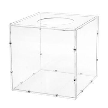 透明亞加力抽獎箱 / 投票箱 (可裝拆式)