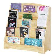 松木兒童雜誌圖書架 (中號/80 x 30 x 82cm)