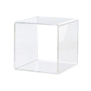 訂做: 方形亞加力產品展示架