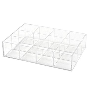 訂做: 亞加力膠陳列盒 (可拆式間隔)