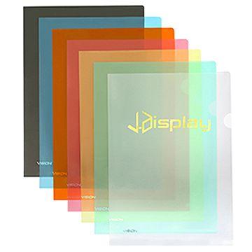 VISION A4/F4透明膠快勞 (連燙金 / 燙銀印刷 - 1,000個起)